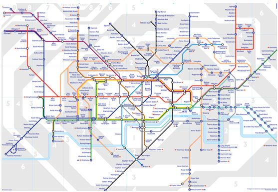 tube map new